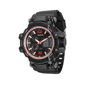 Relógio Speedo Masculino Analógico E Digital Preto