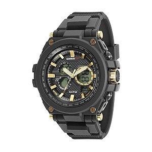 Relógio Speedo Masculino Big Case Anadigi