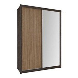Roupeiro 2 Portas Deslizantes. Com Espelho Copacabana Plus