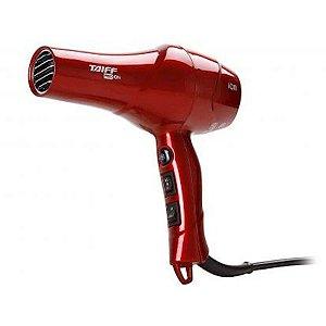 Secador Taiff Red com Íons 2 Velocidades 4 Temperaturas 1.900 Watts 127 Volts Vermelho [000157 VM]