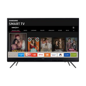 "Smart TV 49"" LED Samsung Full HD Flat 2HDMI 1USB ConnectShare™ Preta [UN49K5300AGXZD]"