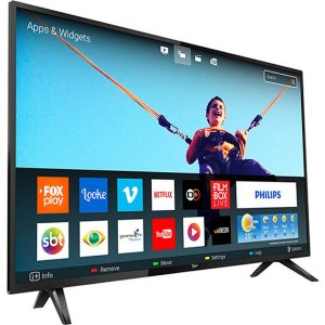 "Smart TV Led 43"" Philips 43PFG5813/78 Full HD com Conversor Digital Wi-Fi 2 HDMI 2 USB 60hz"