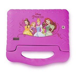 "Tablet Multilaser Disney Princesas Plus Tela 7"" Wi-fi Android 7. Câmera 2.0 Mp Processador Quad-Core Rosa [NB281]"
