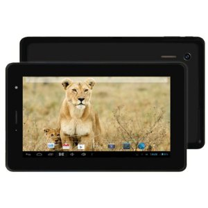 "Tablet Phaser Kinno PC205 Preto Dual Core Tela 7"" 8GB 3G Wi-fi Aplicativos Exclusivos"