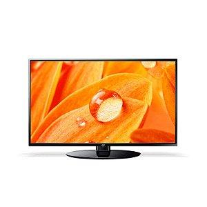 """TV 32"""" LED AOC HD 2HDMI 1USB Conversor digital Entrada VGA Preta [LE32H1465]"""