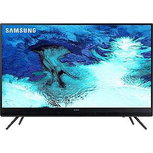 """TV 32"""" LED Samsung HD Flat 2HDMI 1USB ConnectShare™ Conversor Digital Integrado Preta [K4100]"""