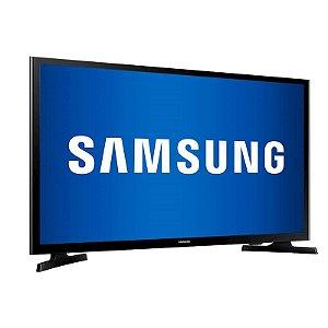 "TV 32"" LED Samsung HD Flat HDMI USB ConnectShare Movie Preta [J4000]"