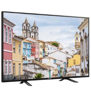 "TV 40"" LED Panasonic FHD 2HDMI 1USB Media Player V-Audio Preta [TC-40D400B PT]"