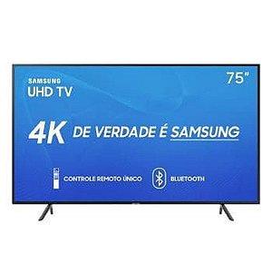 Tv 75 Polegadas Samsung Led Smart 4k Wi-Fi USB HDMI