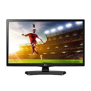 "TV Monitor 24"" LG LED LCD HDMI USB Conversor Digital Funç?o Modo Gaming USB AutoRun Preta [24MT49DF-PS]"