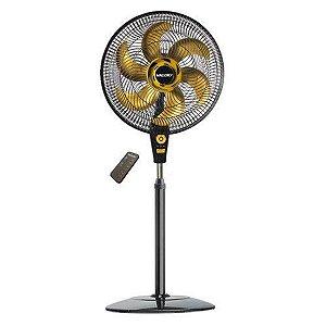 Ventilador Air Timer Mallory Ts+ Preto Gold