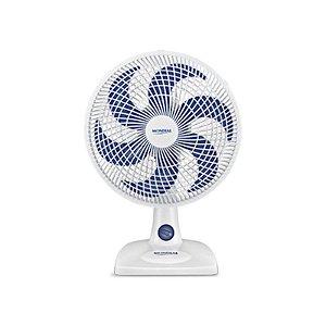 Ventilador de Mesa Mondial Max Power 30cm 3 Velocidades Branco/Azul 127 Volts [NV15]