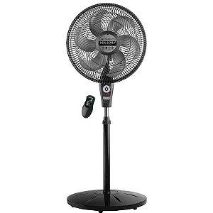 Ventilador Mallory Coluna Preto Air Timer 40cm 3velocidades 6pás 110V