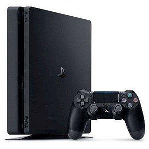 Playstation 4 Sony Slim 1 TB + Controle Dual Shock + 3 Jogos [PS4]