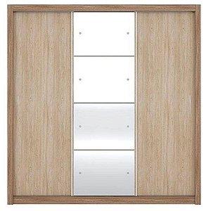 Guarda-roupa Demóbile Residence II Com Espelho 03 Portas