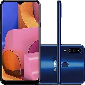 SMARTPHONE SAMSUNG GALAXY A20S 32GB AZUL TELA 6.2 3GB