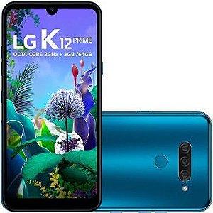 Celular LG K-12 Prime 64GB Dual - LMX525BAW.ABRABL