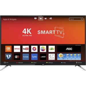 "TV 50"" AOC 4K SMART LE50U7970S  4 HDMI 2 USB Wi-Fi 60hz"