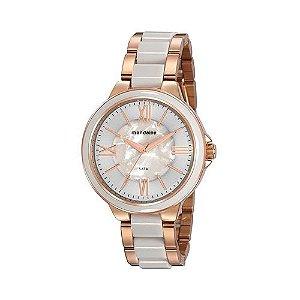 Relógio Feminino Mondaine Madrepérola Branco 76734LPMVRE2