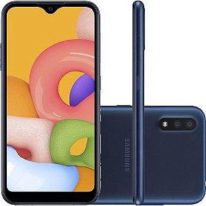 Smartphone Samsung Galaxy A01 - Azul