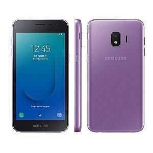 """Smartphone Samsung Galaxy J2 Core Violeta 16GB, Tela 5"""", Câmera Traseira 8MP com Flash LED Processador Quad Core"""