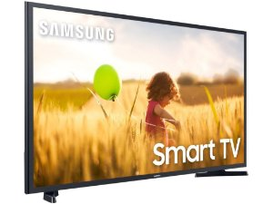 Smart Tv Led 43'' Samsung 43T5300 Full HD + WIFI, HDR para Brilho e Contraste, Plataforma Tizen, 2 HDMI, 1 USB - Preta