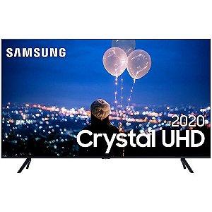 "Samsung Smart TV 50"" Crystal UHD 50TU8000 4K, Wi-fi, Borda Infinita,Modo Ambiente Foto e Processador Crystal 4K"