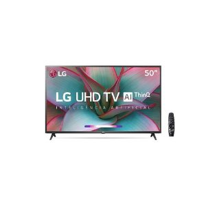 "Smart TV 50"" LG 50UN7310 UHD 4K Wifi Bluetooth Hdr Inteligência Artificial Thinq Ai"