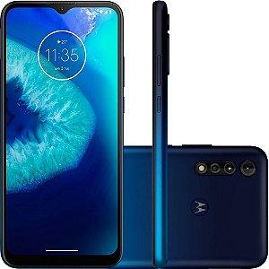 "Smartphone Moto G8 Power Lite 64GB Dual Chip Android Tela 6.5"" Helio P35 4G Câmera 16MP+ 2MP+ 2MP - Azul Navy"