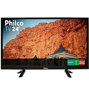 Tv Philco 24 Polegadas Com Resolução Hd E Recepção Digital - Ptv24c10d Led