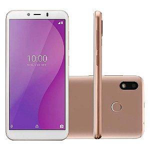 Smartphone Multilaser 4g 32gb 1gb Octa Core Dourado P9133