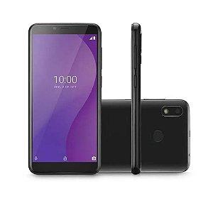 """Smartphone Dual G 32GB 4G 5.5"""" Octa Core Android 9.0 Go P9132 Preto - Multilaser"""