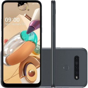 "Smartphone LG K41S 32GB Dual Chip Android 9.0 Pie 6.5"" Octa Core 4G Câmera 13M+W5M+D2M+M2M - Titânio"