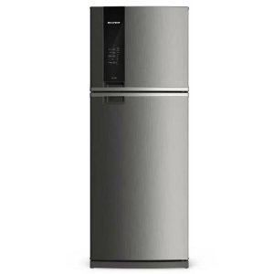 Geladeira/Refrigerador Brastemp Duplex 462L Inox - BRM56AK - 110V