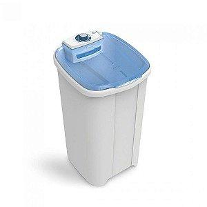 Lavadora de Roupas Tanquinho 10kg 400W Newmaq Branco/Azul - 110V