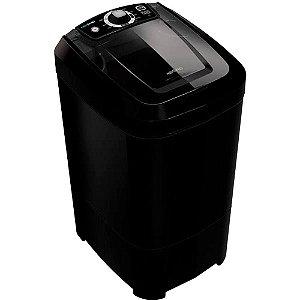 Lavadora de Roupas Newmaq 12kg com Agitador Gigante Black Onix 110V