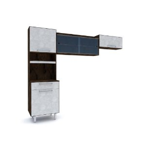 Cozinha Batrol Premium Cappu/Concreto