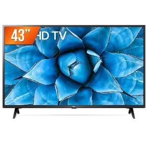 "Smart TV LED 43"" 4K UHD LG 43UN731C 3 HDMI 2 USB Wi-Fi Assitente Virtual Bluetooth"