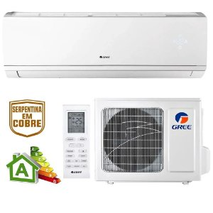 Ar Condicionado Split High Wall Inverter Gree Eco Garden Só Frio 24000 BTUs gwc24qe - 220v