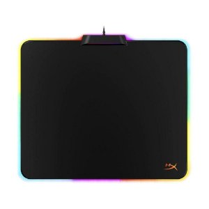 Mousepad Gamer HyperX Fury Ultra HX-MPFU-M RGB Speed 360x300mm com fio