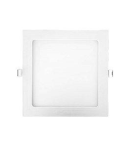 Painel embutido LED 18W - 3000K - 21,7 x 21,7cm