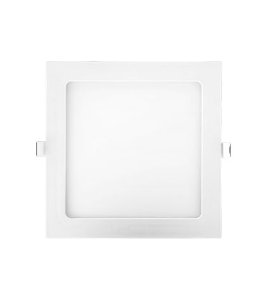 Painel embutido LED 18W - 4000K - 21,7 x 21,7cm
