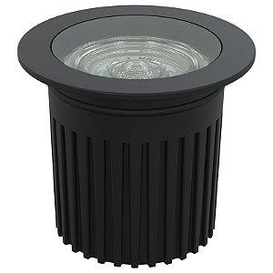 Mini Embutido Interlight Piso IL 3927 - Preto