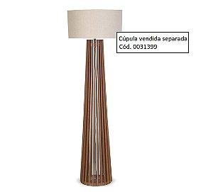 Coluna para Luminária de Piso 1051 imbuia