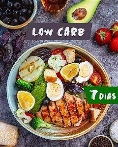 Kit Low Carb (14 produtos: 7 Refeições + 7 Lanches) - 7 dias