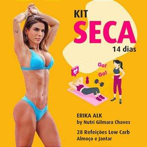 Kit Erika Alk Seca 14 dias (almoço e jantar)