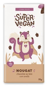 Chocolate Super Vegan Nougat 95g