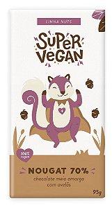 Chocolate Super Vegan Nougat Intenso 70% 95g