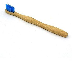 Escova de Dentes Infantil Ecologica Biodegradavel de Bambu