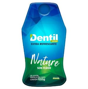 Gel Dental Vegano Dentil Nature Sem Fluor 100g